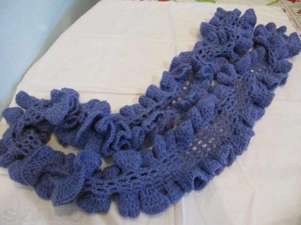 Как вязать шарф для начинающих