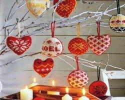 Новогодние подарки и украшения своими руками