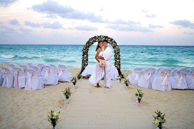 Свадьбы у моря фото