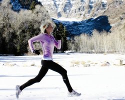 Зимняя пробежка: хорошее здоровье или экстрим?