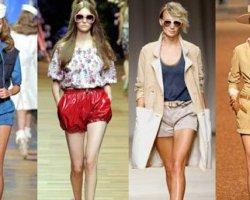 Модные шорты 2014 года: удобство, красота, практичность