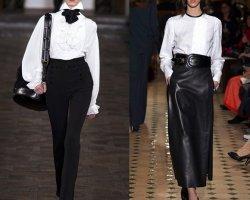 Белые блузки - неотъемлемая часть женского гардероба в 2014 году