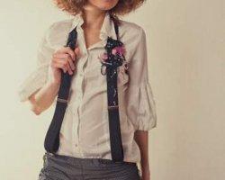 Подтяжки - трендовый аксессуар в женском гардеробе 2014