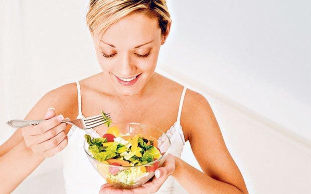 Меню сбалансированного дробного питания для похудения на неделю