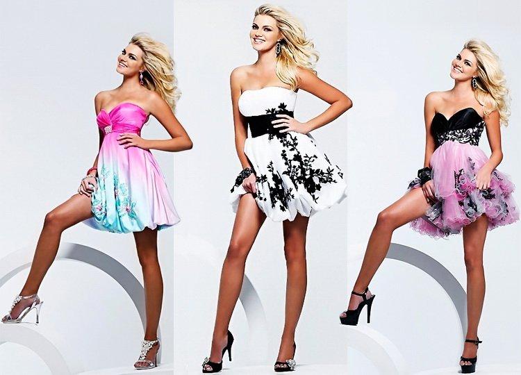 Стильные платья для выпускного вечера фото