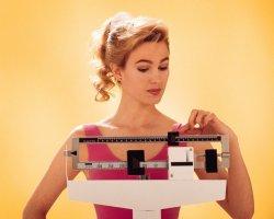 ѕриводим свой вес в норму за мес¤ц