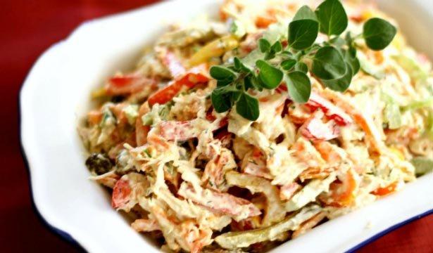 Самые вкусные салаты на новый год