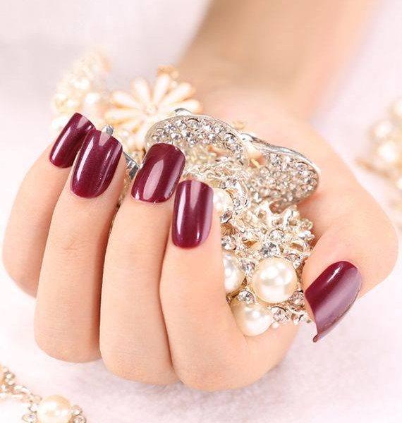 Модные ногти осень зима