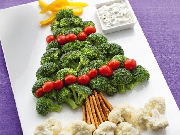 Как украсить салаты стол на новый год