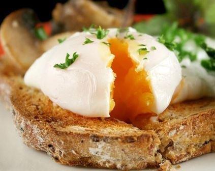 рецепт яйца всмятку с фото