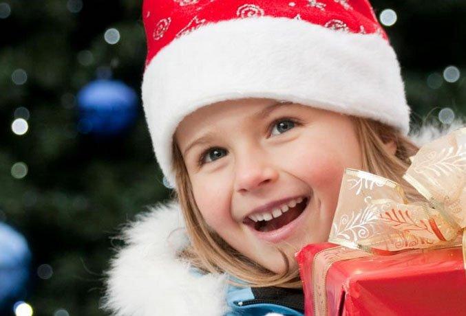 Интересные новогодние подарки детям картинки