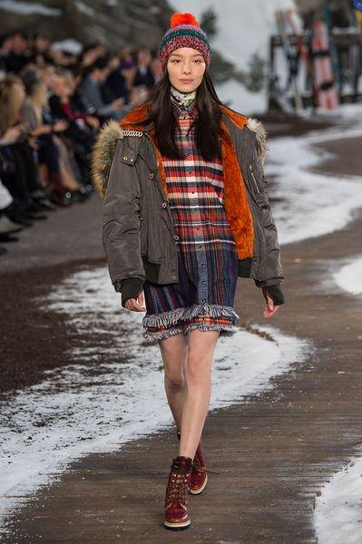 Модные пуховики зима 2016 женские
