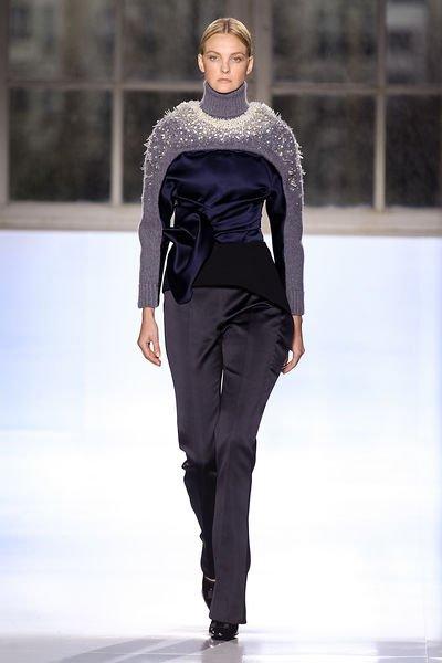 Модные вязаные кардиганы пуловеры 2