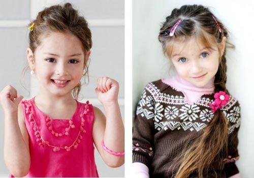 Фото детских модных причёсок для девочек