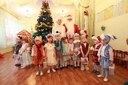 Сценарий новогодней сказки утренника в детском саду для старшей группы 354