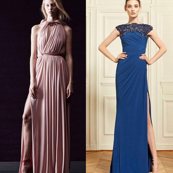 Стильные платья в пол фото