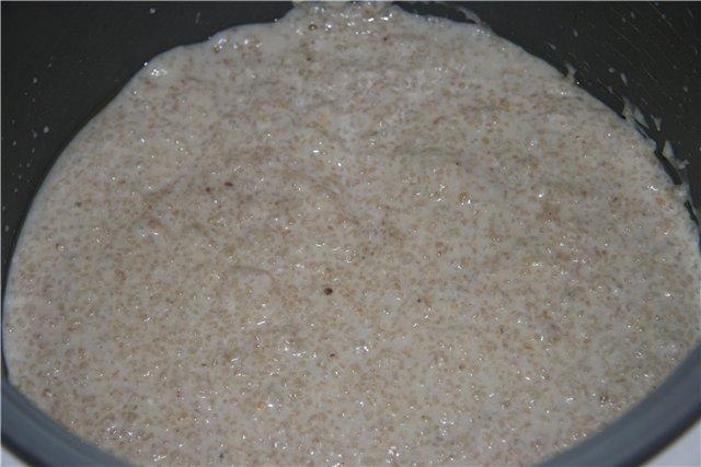 Рецепт молочной гречневой каши