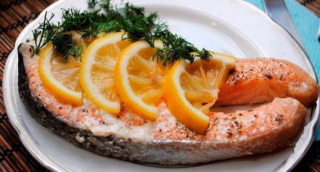вкусная запеченная рыба фото рецепт