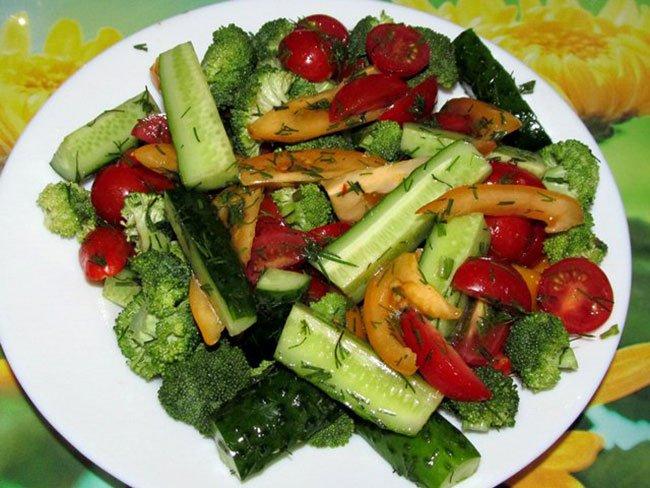 простые рецепты быстрого приготовления салаты с фото