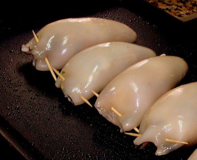 Как приготовить тушку кальмара в духовке