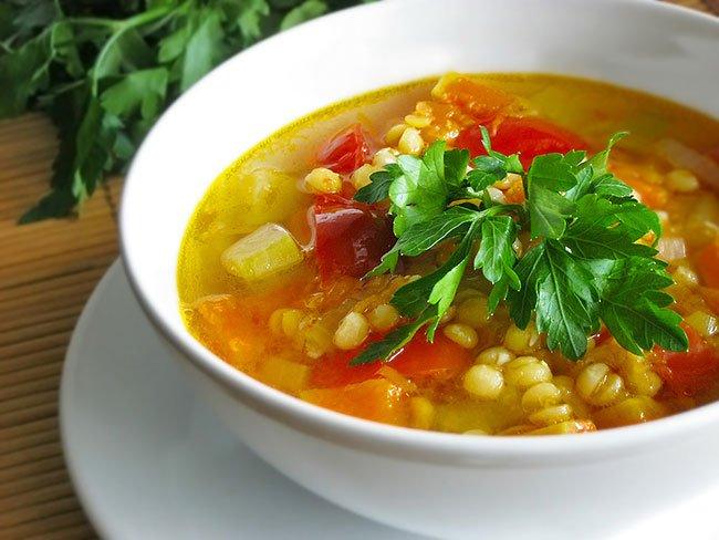 как приготовить гороховый суп в кастрюле