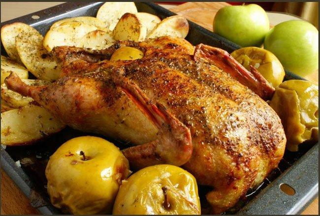 рецепты приготовления домашнего гуся в духовке