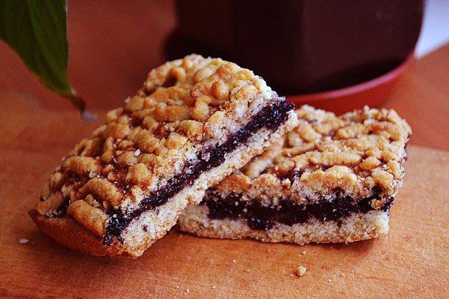 простой пирог с джемом рецепт с фото
