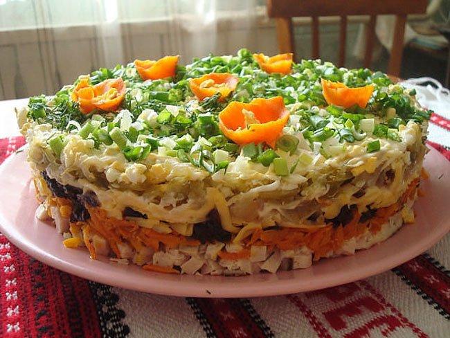 Рецепты салат чернослив фото