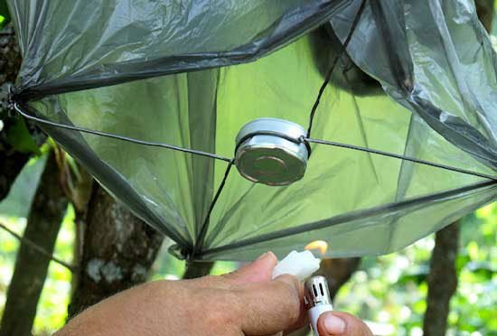 Воздушный фонарик своими руками