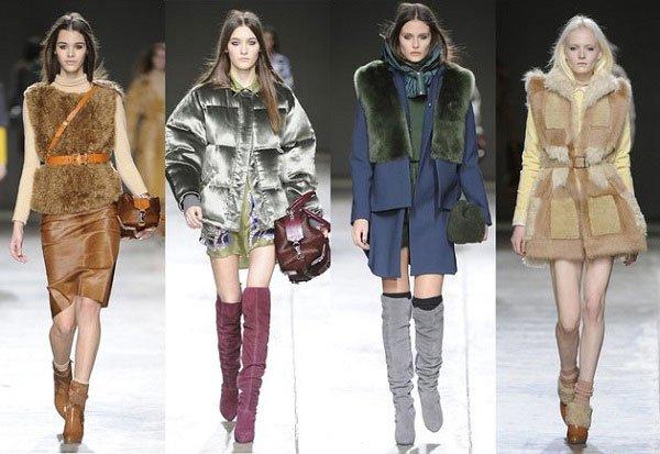 Модная одежда зима 2015