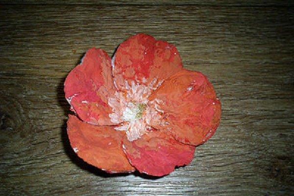 Цветы из своими руками из ватных дисков