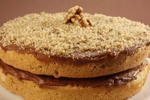 Пошаговый фото рецепт торта полночь