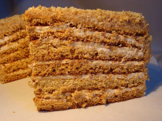как приготовить торт из сгущёнки