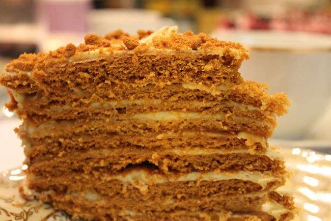 рецепт крема для торта рыжик