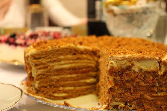 торт рыжик классический рецепт с фото