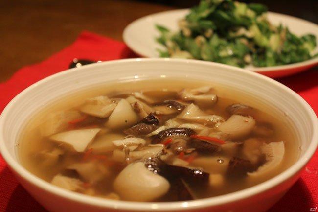 рецепт супа мясной с грибами