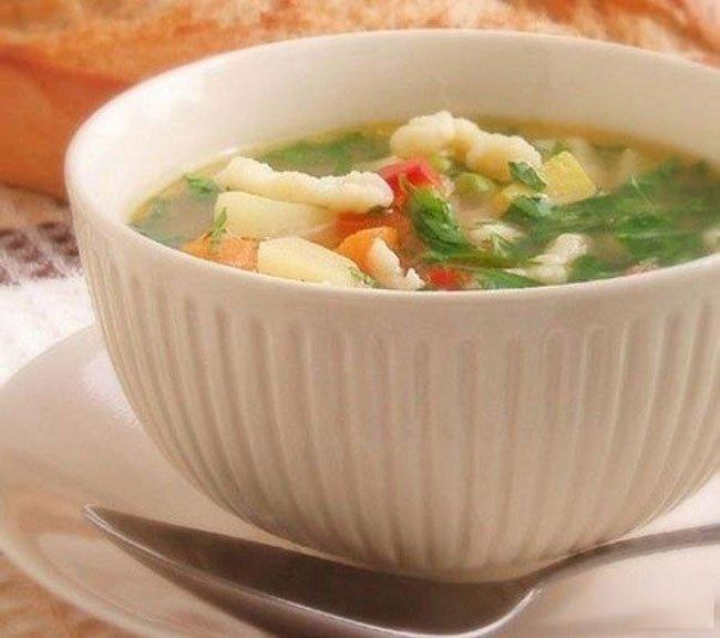 клёцки для супа без молока