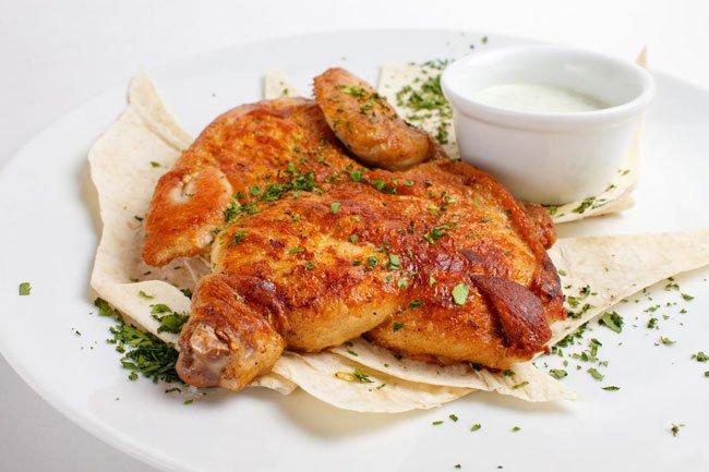 цыпленок табака рецепт в духовке с корочкой