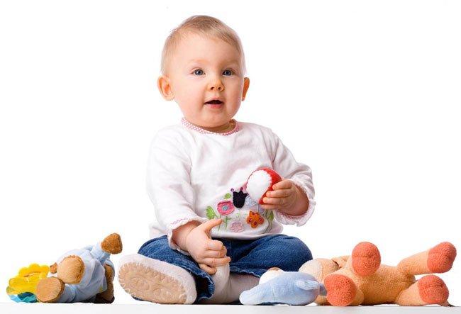 Развиваем годовалого ребенка