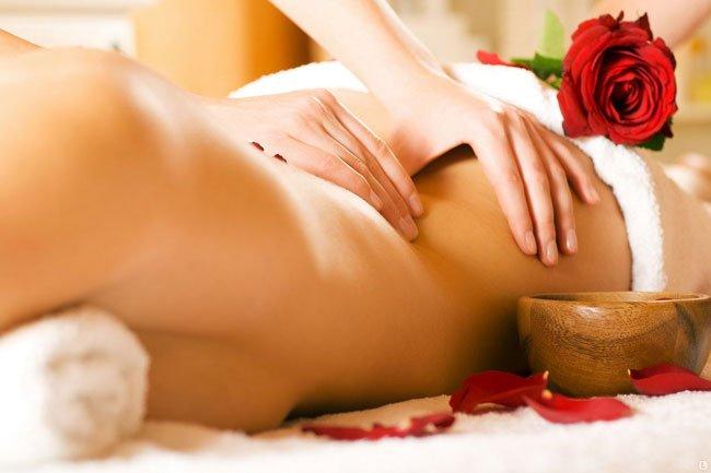фото девушек в массаже