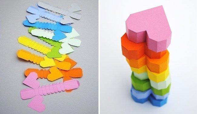 Как сделать копилку из бумаги своими руками без клея и ножниц 46
