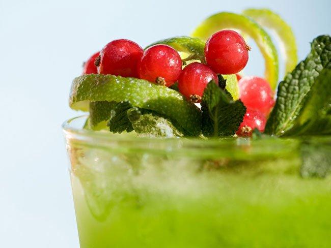 рецепты зелёных коктейлей для блендера