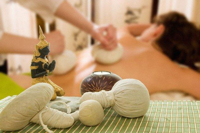 Травяные мешочки для массажа своими руками