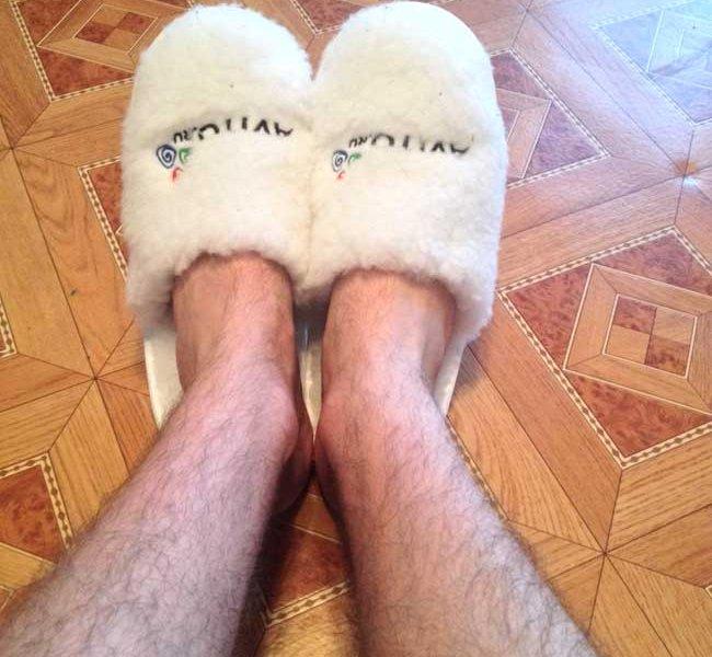 волосатые ноги