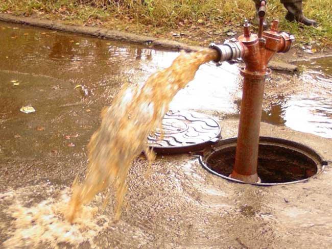 фото грязная вода