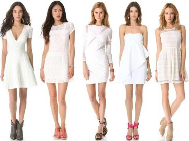 Сон коллега в белом платье