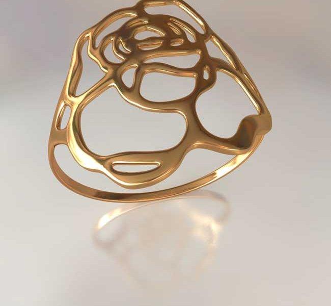 сломанное золотое кольцо