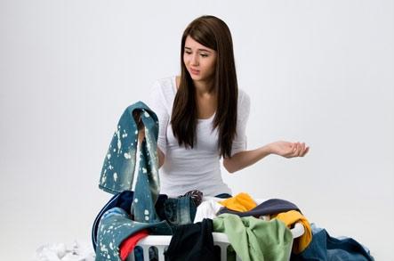 как вывести старое жирное пятно с одежды