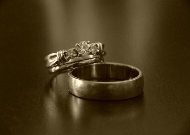 Потерять и его найьи обручальное кольцо
