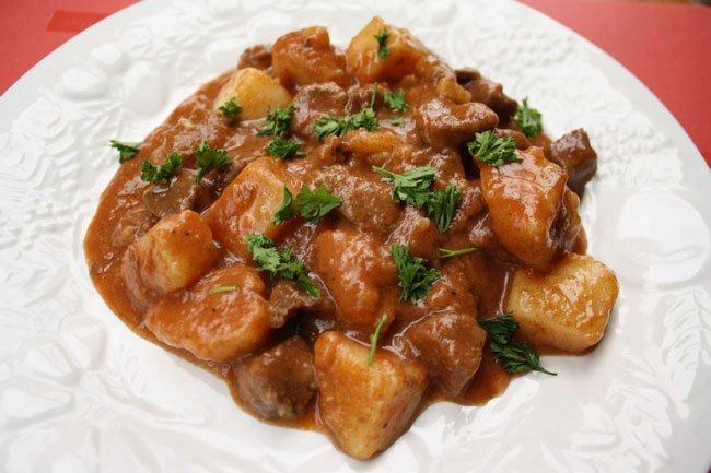 Рецепт мясо с подливкой